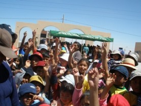 Outreach in Ciudad De Dios - City of God